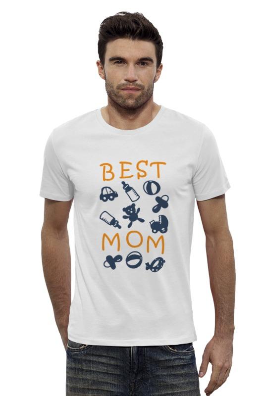 Футболка Wearcraft Premium Slim Fit Printio Best mom футболка для беременных printio stay best mom in the world