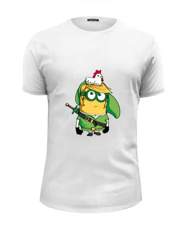 Футболка Wearcraft Premium Slim Fit Printio Зельда покемон футболка wearcraft premium slim fit printio покемон кадабра