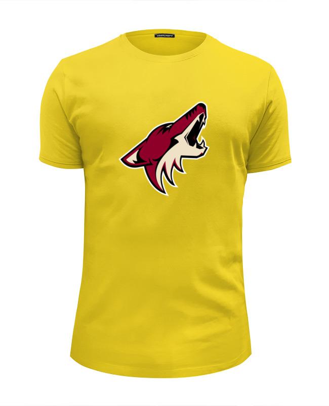 Футболка Wearcraft Premium Slim Fit Printio arizona coyotes