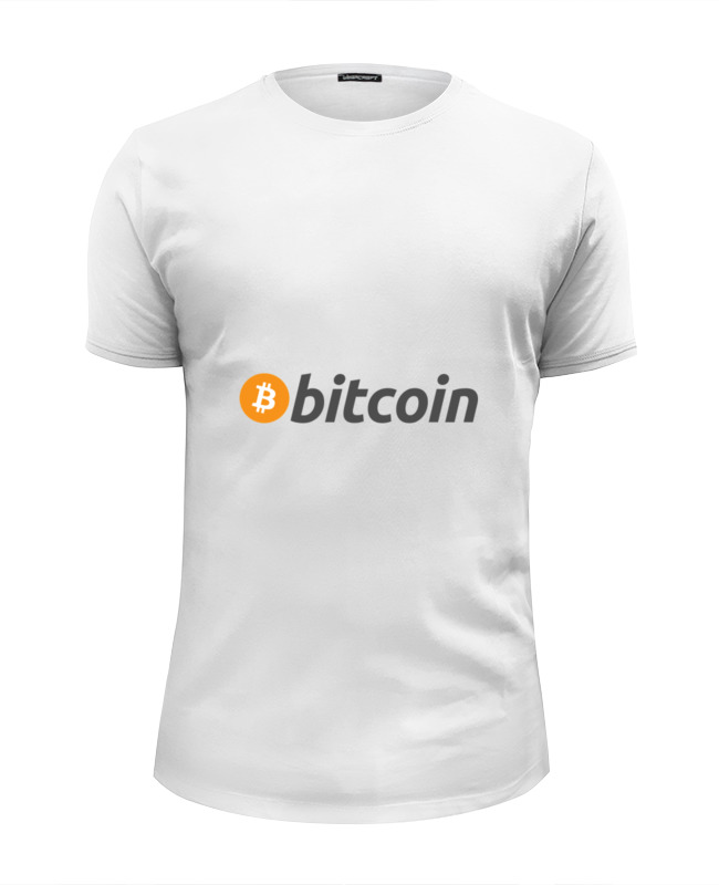 Футболка Wearcraft Premium Slim Fit Printio Bitcoin все цены