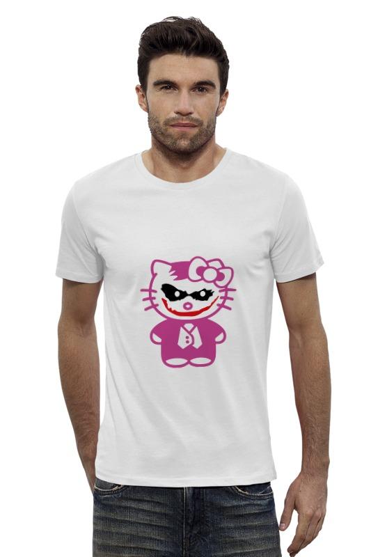 Футболка Wearcraft Premium Slim Fit Printio Hello kitty joker футболка wearcraft premium slim fit printio hello kitty x avengers