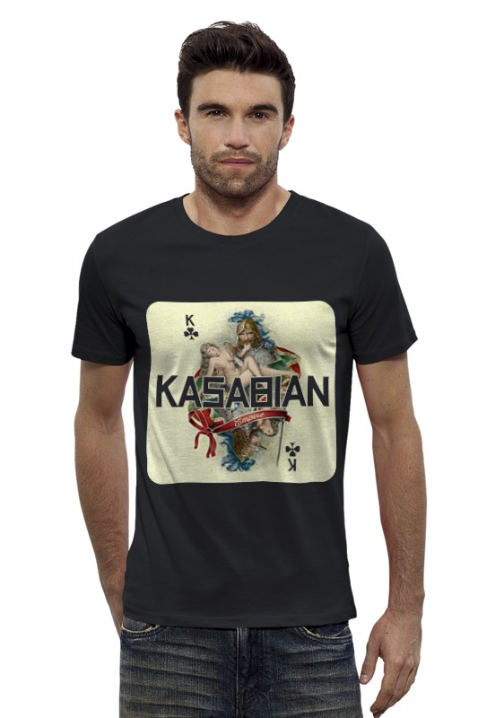 Футболка Wearcraft Premium Slim Fit Printio Kasabian - empire футболка wearcraft premium slim fit printio empire needs you