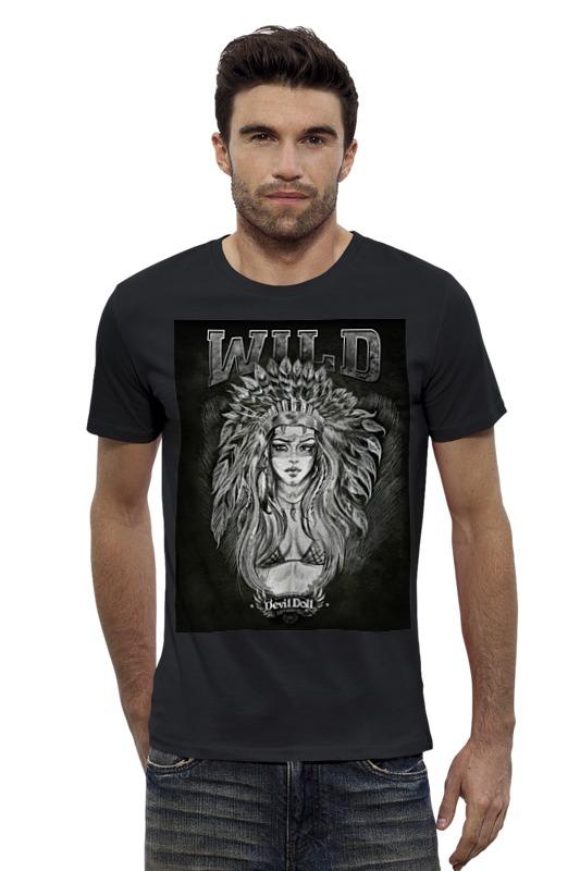 Футболка Wearcraft Premium Slim Fit Printio wild by devildoll детская футболка классическая унисекс printio wild by devildoll
