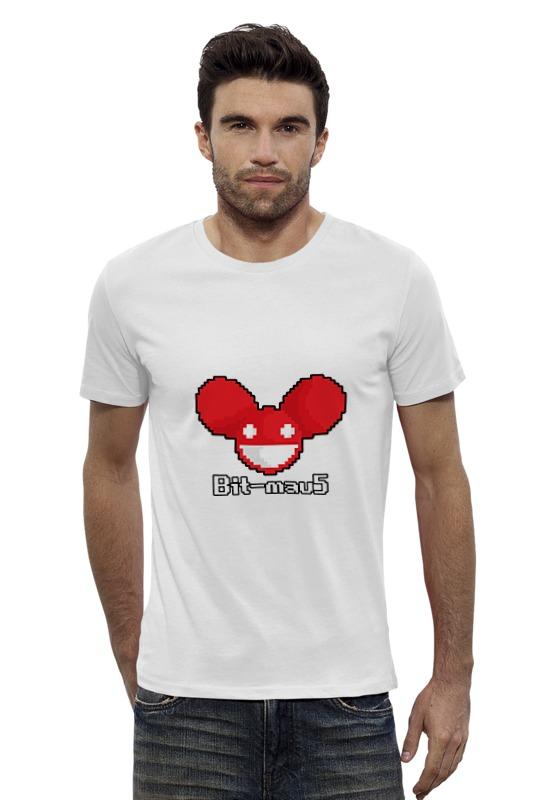 Футболка Wearcraft Premium Slim Fit Printio Дэдмаус футболка wearcraft premium slim fit printio космо диджей