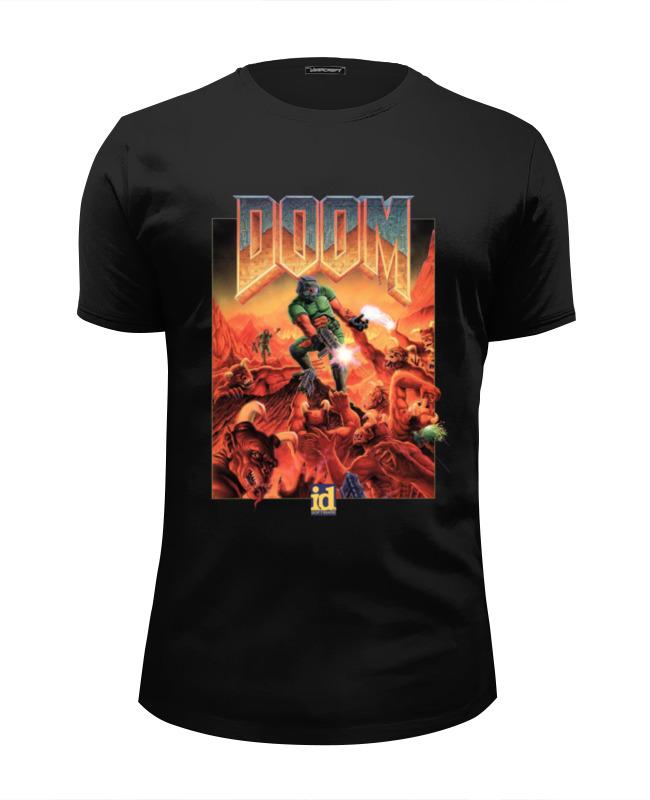 Футболка Wearcraft Premium Slim Fit Printio Doom game футболка doom