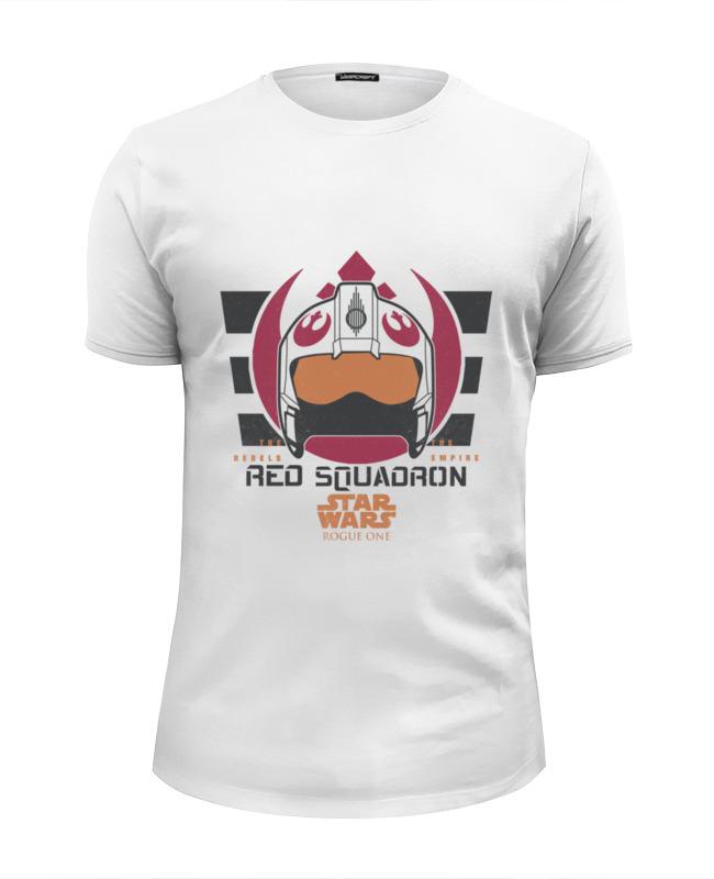 Футболка Wearcraft Premium Slim Fit Printio Красная эскадрилья футболка 501 красная