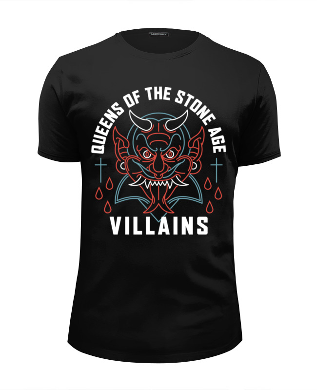 Футболка Wearcraft Premium Slim Fit Printio Queens of the stone age футболка wearcraft premium slim fit printio stone island