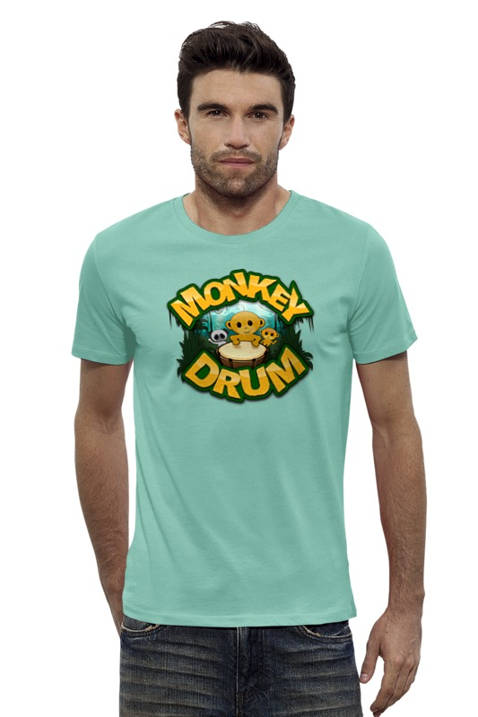 Футболка Wearcraft Premium Slim Fit Printio Год обезьяны футболка рингер printio обезьяны