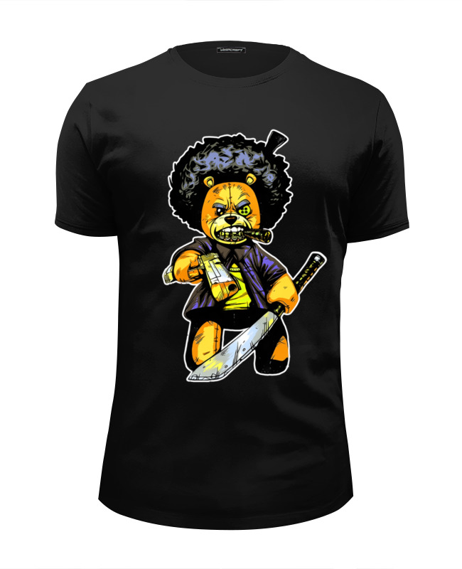 Printio Teddy gangsta футболка wearcraft premium slim fit printio цезарь