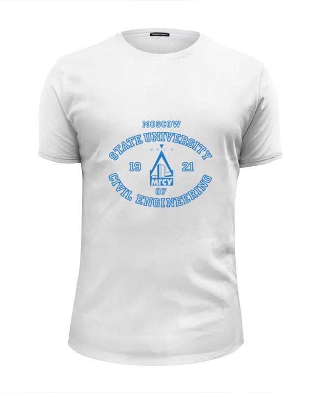 Printio Мужская мгсу футболка wearcraft premium slim fit printio мужская финансовый университет