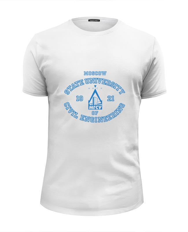 Printio Мужская мгсу футболка wearcraft premium slim fit printio мужская мгимо