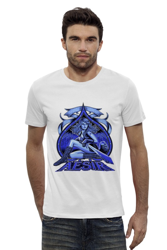 Футболка Wearcraft Premium Slim Fit Printio Aesir футболка wearcraft premium slim fit printio кит ричардс