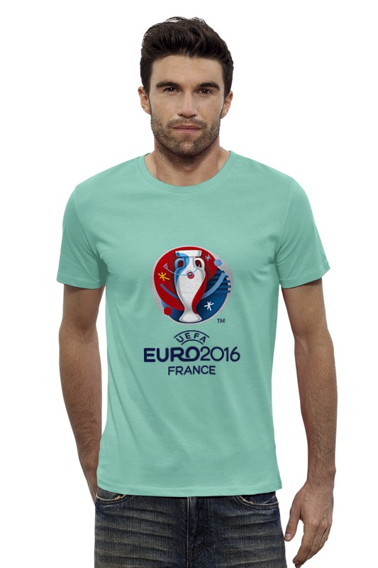 Футболка Wearcraft Premium Slim Fit Printio Euro 2016
