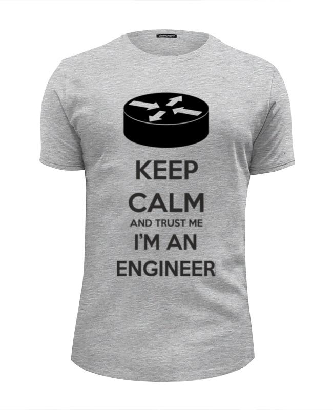 Printio Keep calm and trust me i'm an engineer gr футболка wearcraft premium printio keep calm and trust me woman yellow