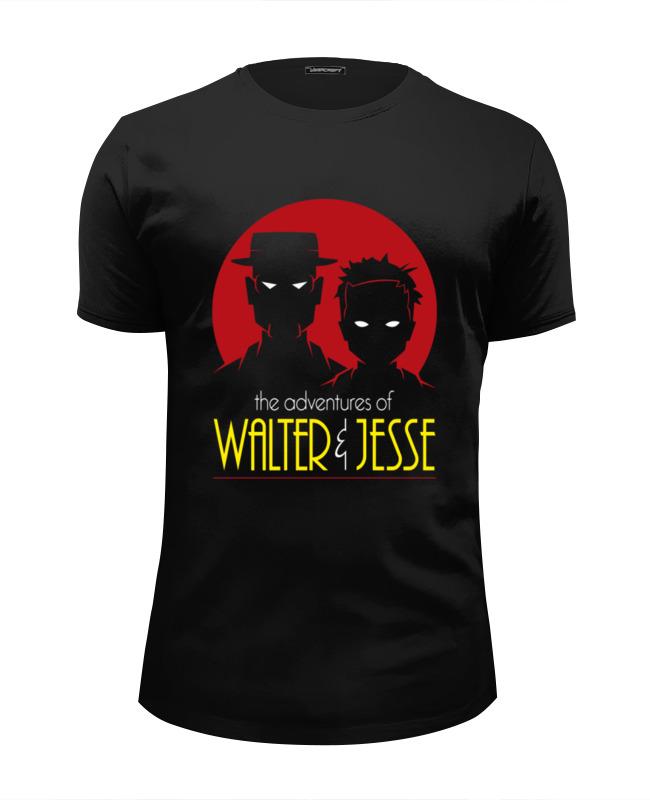 Футболка Wearcraft Premium Slim Fit Printio Walter & jesse футболка стрэйч printio walter