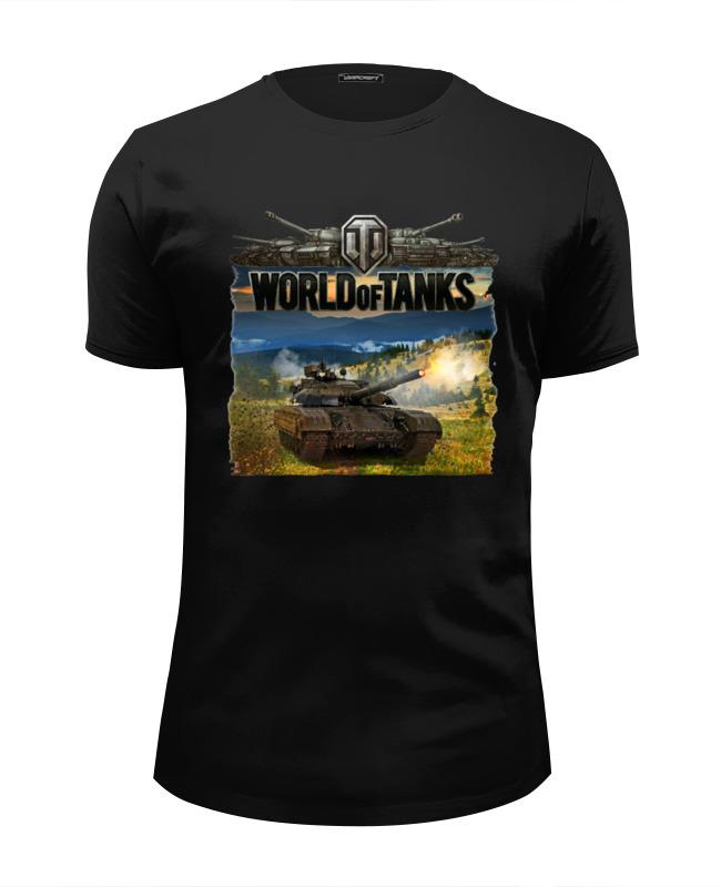 Футболка Wearcraft Premium Slim Fit Printio World of tanks футболка стрэйч printio world of tanks