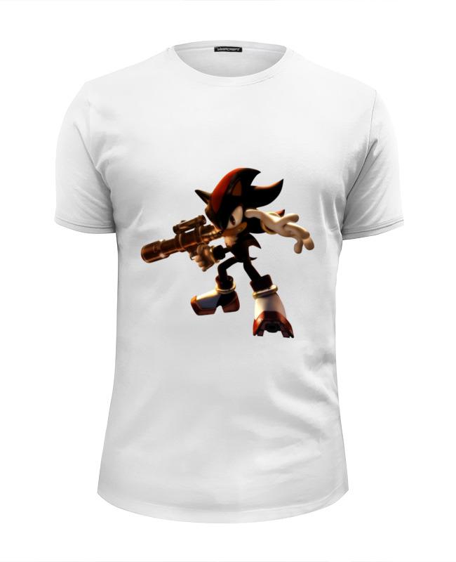 Футболка Wearcraft Premium Slim Fit Printio Shadow the hedgehog (ёж шэдоу) the mountain shadow