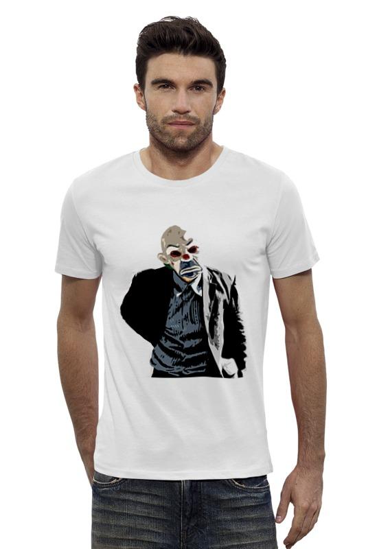 Футболка Wearcraft Premium Slim Fit Printio Joker in the mask футболка классическая printio the joker