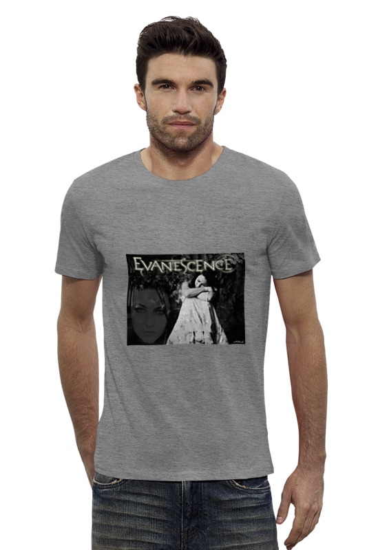 Футболка Wearcraft Premium Slim Fit Printio Evanescence (amy lee)