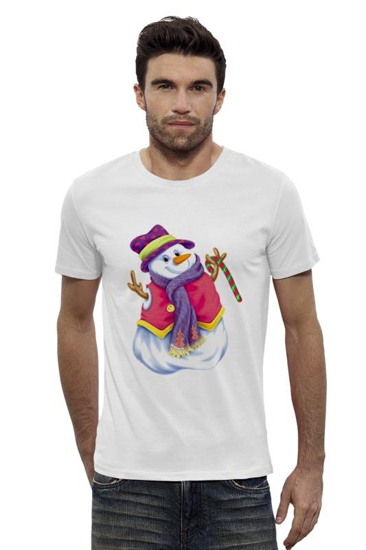Футболка Wearcraft Premium Slim Fit Printio Снеговик футболка wearcraft premium slim fit printio снеговик