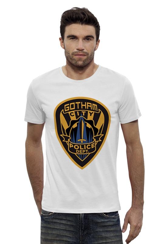 Футболка Wearcraft Premium Slim Fit Printio Полиция готэма (бэтмен)