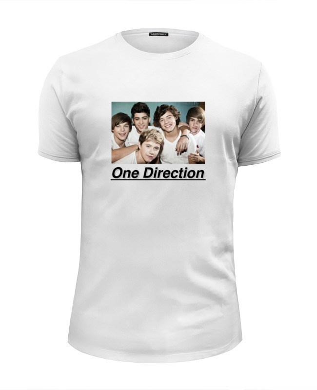 Футболка Wearcraft Premium Slim Fit Printio One direction one direction we love one direction