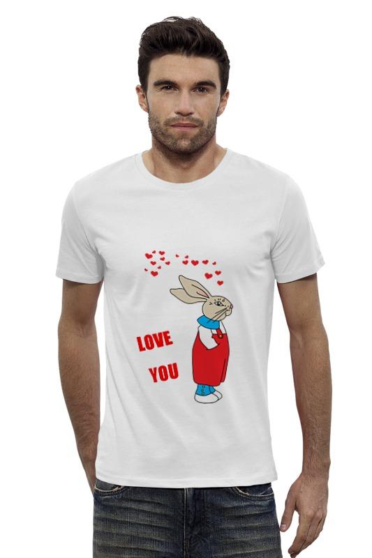 Футболка Wearcraft Premium Slim Fit Printio Rabbit_man футболка wearcraft premium slim fit printio vampire