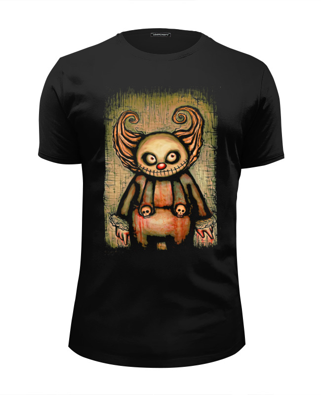 Футболка Wearcraft Premium Slim Fit Printio Evil clown футболка wearcraft premium slim fit printio insane clown posse