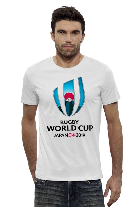 Футболка Wearcraft Premium Slim Fit Printio Rugby world cup 2019