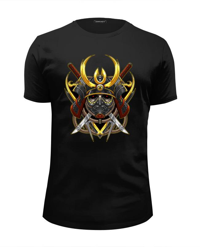 Футболка Wearcraft Premium Slim Fit Printio Воин футболка wearcraft premium printio бесстрашный воин