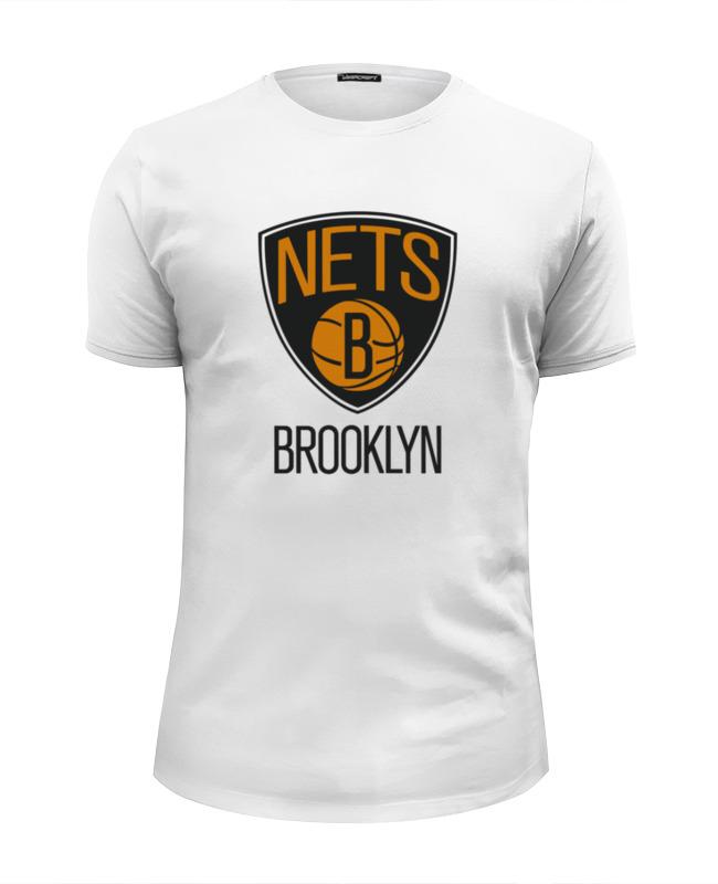 Футболка Wearcraft Premium Slim Fit Printio Brooklyn nets