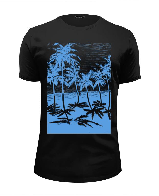 Фото - Футболка Wearcraft Premium Slim Fit Printio Пальмы юбка в складку printio пальмы