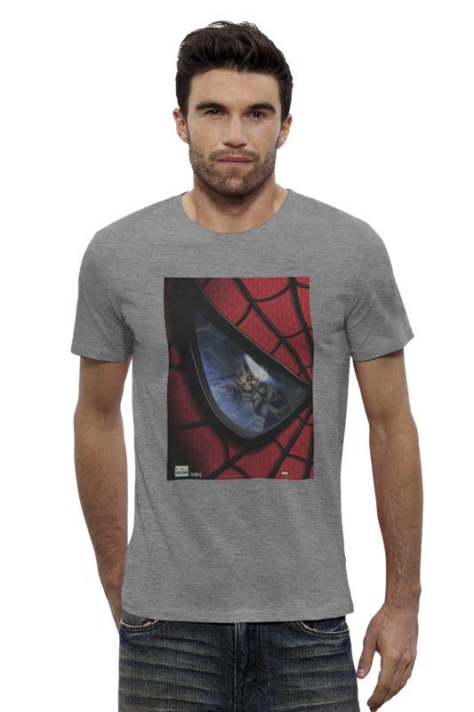 Футболка Wearcraft Premium Slim Fit Printio Spider man / человек паук тетрадь на пружине printio человек паук spider man