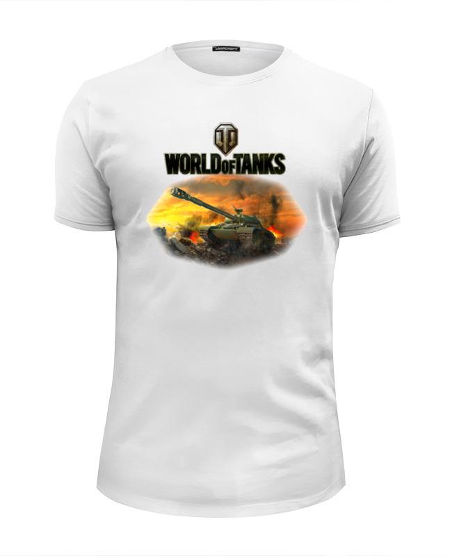 Футболка Wearcraft Premium Slim Fit Printio World of tanks