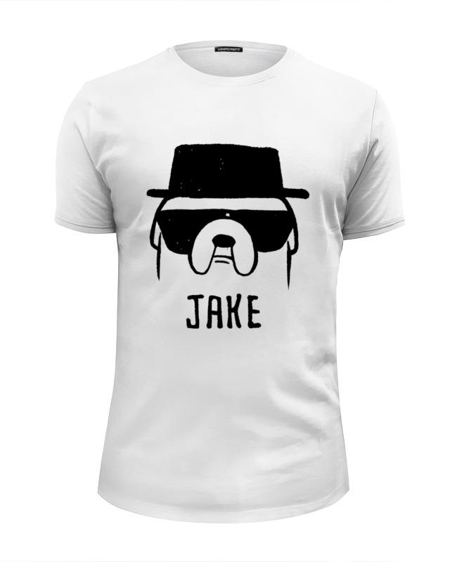 Футболка Wearcraft Premium Slim Fit Printio Jake heisenberg футболка wearcraft premium printio jake heisenberg