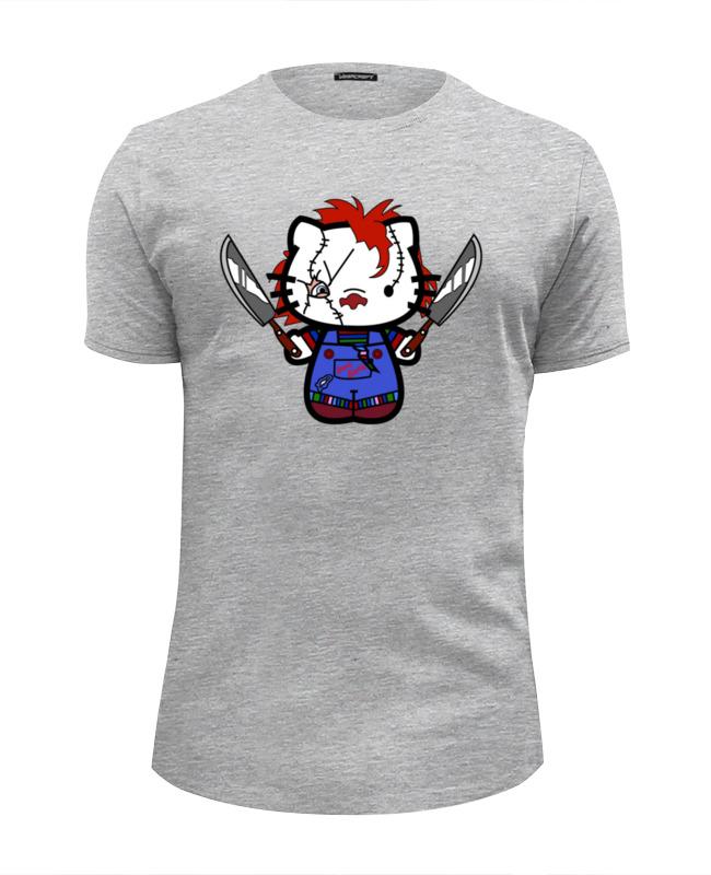 Футболка Wearcraft Premium Slim Fit Printio Hello chucky футболка wearcraft premium slim fit printio hello liberty