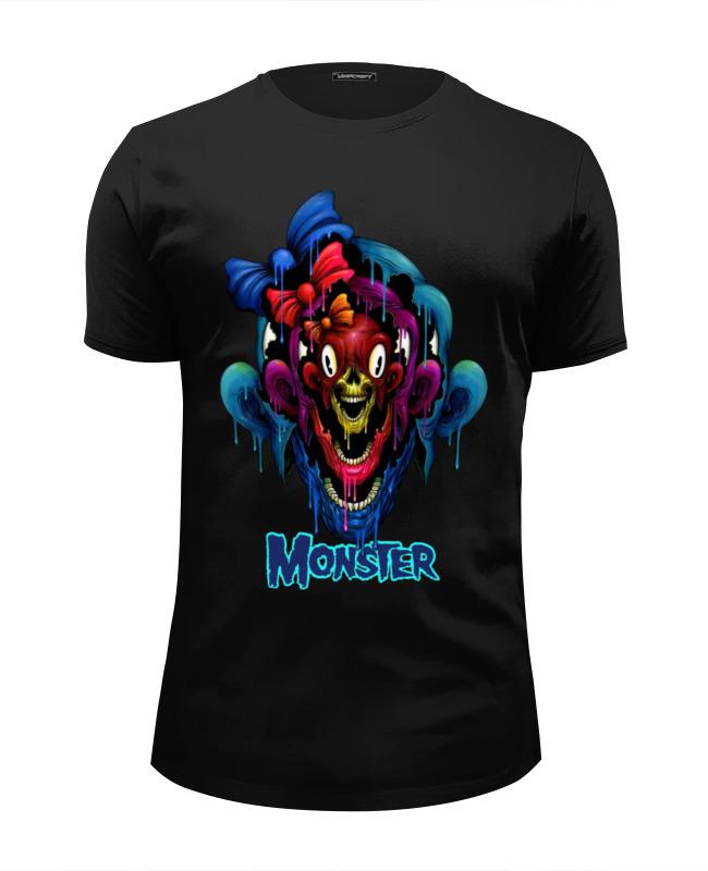 Футболка Wearcraft Premium Slim Fit Printio Monster футболка wearcraft premium slim fit printio open water monster