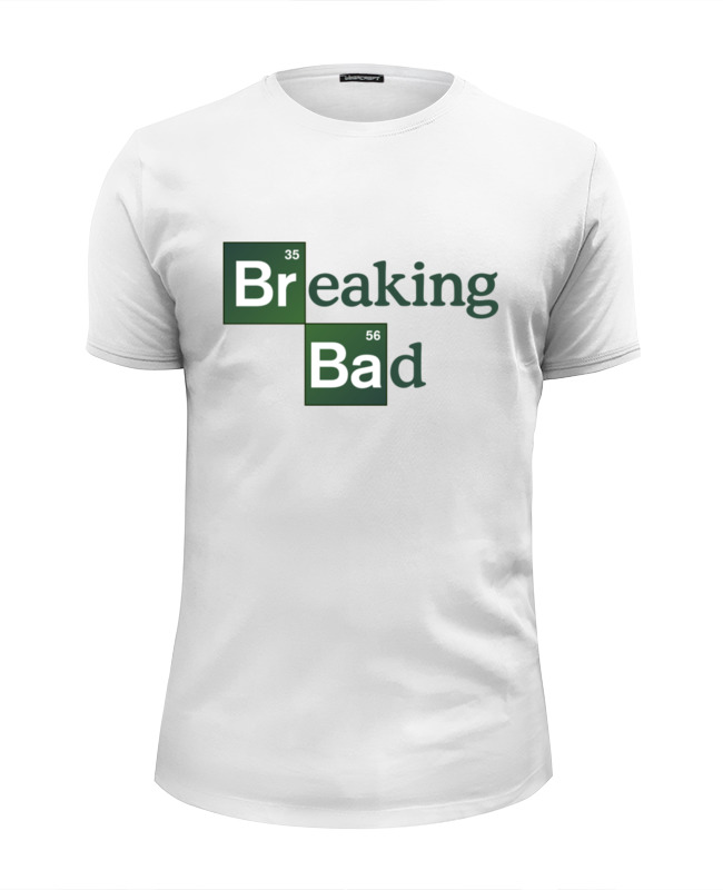 Футболка Wearcraft Premium Slim Fit Printio Breaking bad (во все тяжкие) футболка wearcraft premium slim fit printio god of meth breaking bad