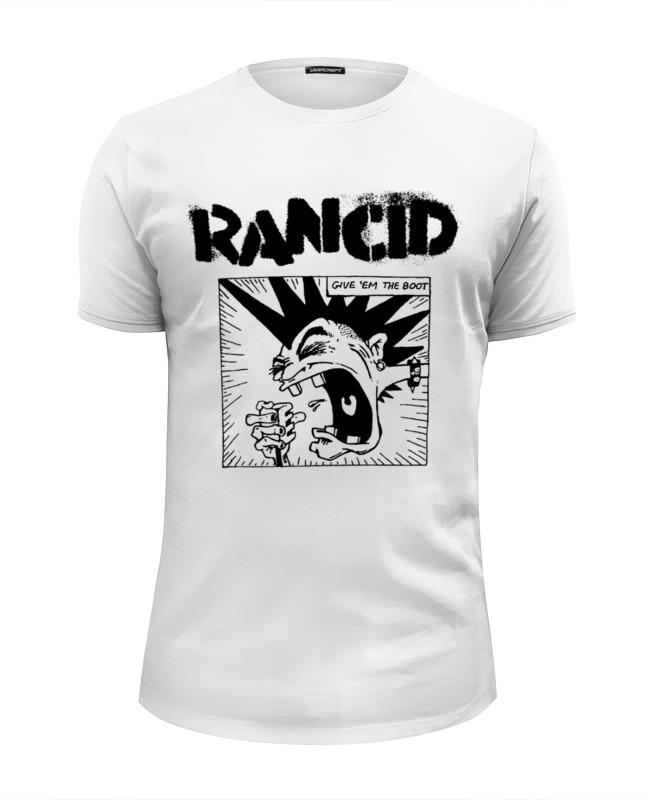Футболка Wearcraft Premium Slim Fit Printio Rancid футболка rancid