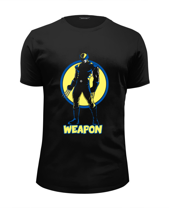Футболка Wearcraft Premium Slim Fit Printio Weapon футболка wearcraft premium printio weapon of mass destruction
