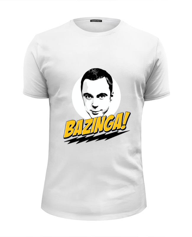 Printio Bazinga! футболка wearcraft premium slim fit printio sheldon bazinga