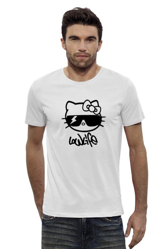 Футболка Wearcraft Premium Slim Fit Printio Hello kitty-low life футболка wearcraft premium slim fit printio hello kitty x avengers