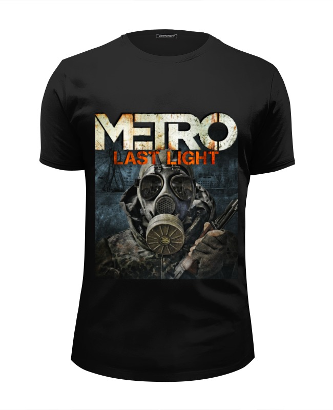 Футболка Wearcraft Premium Slim Fit Printio метро 2033 футболка классическая printio метро 2033