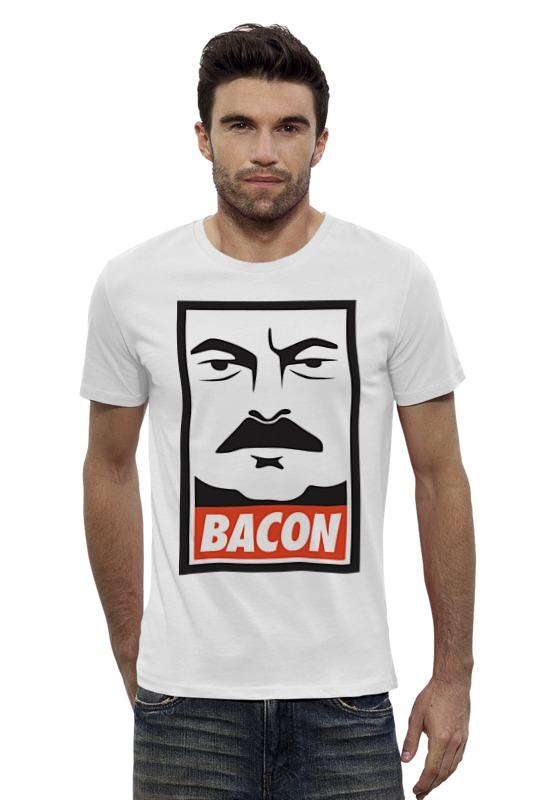 Футболка Wearcraft Premium Slim Fit Printio Bacon (obey) francis bacon