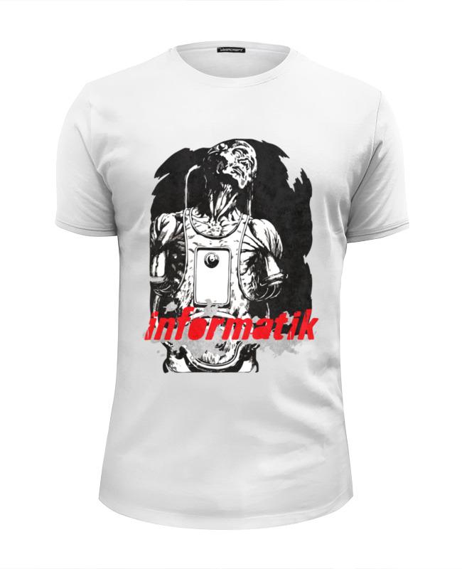 Футболка Wearcraft Premium Slim Fit Printio Informatik футболка классическая printio informatik