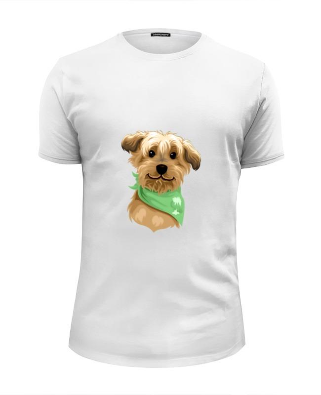 Футболка Wearcraft Premium Slim Fit Printio Милый пёсик футболка wearcraft premium slim fit printio боулинг
