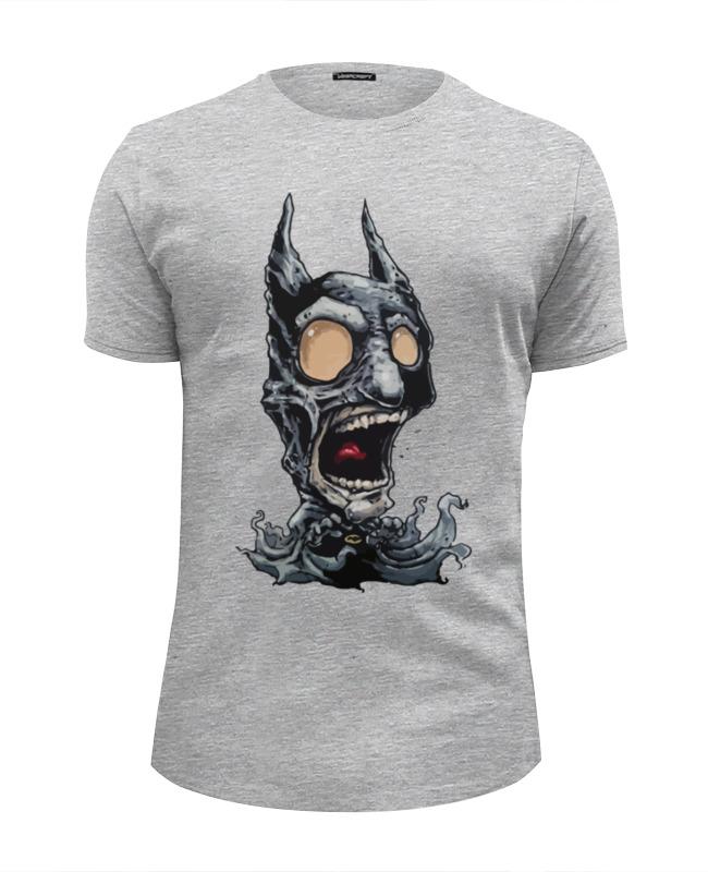 Футболка Wearcraft Premium Slim Fit Printio Бэтмен зомби (batman zombie) футболка wearcraft premium slim fit printio бэтмен зомби batman zombie
