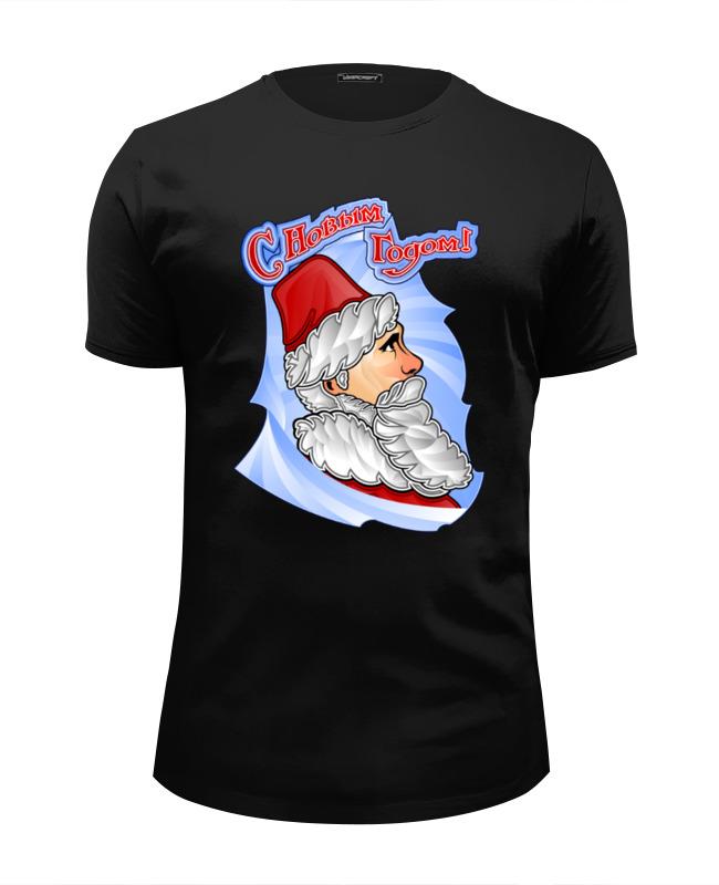 Футболка Wearcraft Premium Slim Fit Printio С новым годом! футболка wearcraft premium slim fit printio дед мороз и снегурочка с новым годом