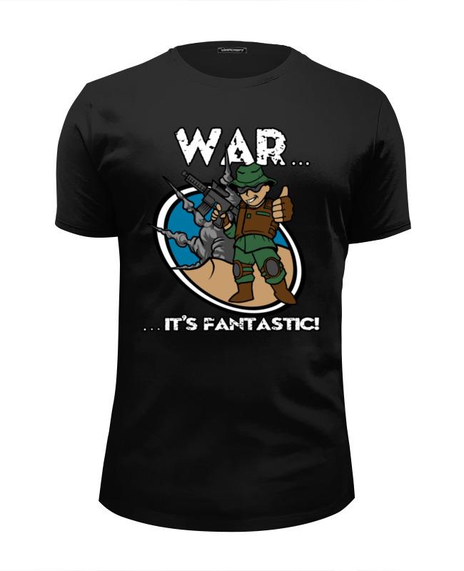 Футболка Wearcraft Premium Slim Fit Printio Fallout футболка wearcraft premium slim fit printio fallout new vegas