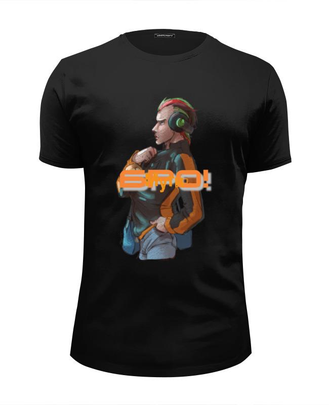 Футболка Wearcraft Premium Slim Fit Printio Мути добро! футболка wearcraft premium slim fit printio добро пожаловать